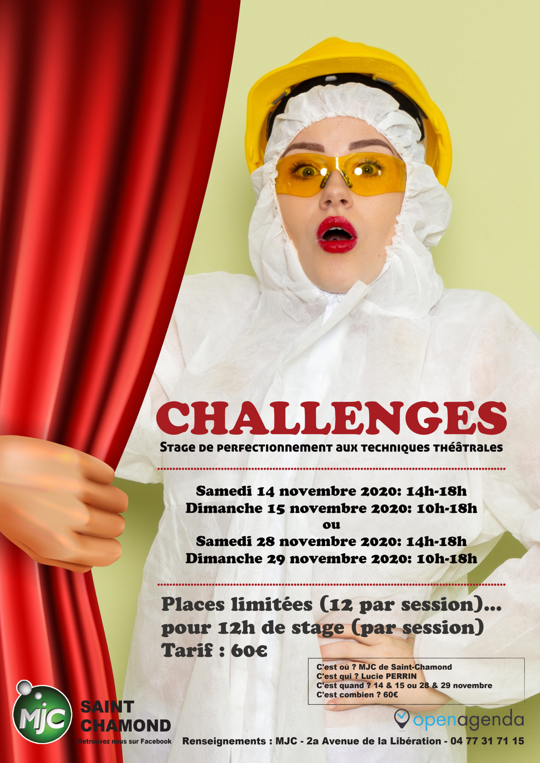 stage challenges