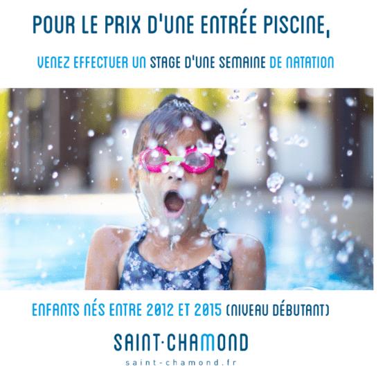 Vacances Toussaint - Stage d'une semaine de natation pour enfants débutants - Centre Nautique Roger Couderc